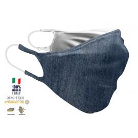 Maschera Filtrante Personalizzabile - Lavabile - Doppio strato - con Tasca interna per Filtro - EVOLution FASHION 25
