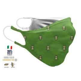 Maschera Filtrante Personalizzabile - Lavabile - Doppio strato - con Tasca interna per Filtro - EVOLution FASHION 07