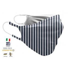 Maschera Filtrante Personalizzabile - Lavabile - Doppio strato - con Tasca interna per Filtro - EVOLution FASHION 31