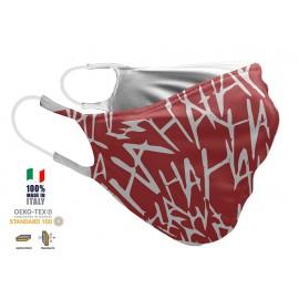 Maschera Filtrante Personalizzabile - Lavabile - Doppio strato - con Tasca interna per Filtro - EVOLution FASHION 22