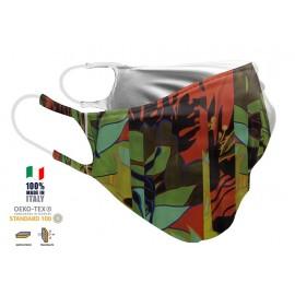 Maschera Filtrante Personalizzabile - Lavabile - Doppio strato - con Tasca interna per Filtro - EVOLution FASHION 02