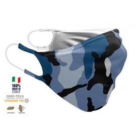 Maschera Filtrante Personalizzabile - Lavabile - Doppio strato - con Tasca interna per Filtro - EVOLution FASHION 006