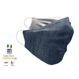 Maschera Filtrante Personalizzabile - Lavabile - Monostrato - con Tasca interna per Filtro - EVOL MASK FASHION  25