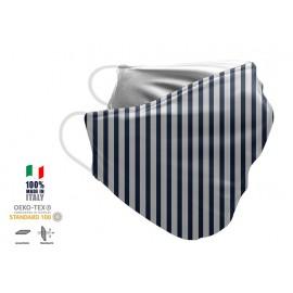 Maschera Filtrante Personalizzabile - Lavabile - Monostrato - con Tasca interna per Filtro - EVOL MASK FASHION  31