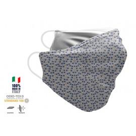 Maschera Filtrante Personalizzabile - Lavabile - Monostrato - con Tasca interna per Filtro - EVOL MASK FASHION  28