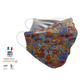 Maschera Filtrante Personalizzabile - Lavabile - Monostrato - con Tasca interna per Filtro - EVOL MASK FASHION  36
