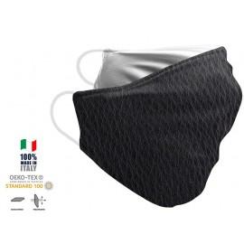 Maschera Filtrante Personalizzabile - Lavabile - Monostrato - con Tasca interna per Filtro - EVOL MASK FASHION  00005