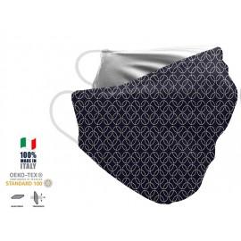 Maschera Filtrante Personalizzabile - Lavabile - Monostrato - con Tasca interna per Filtro - EVOL MASK FASHION  00008