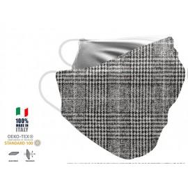 Maschera Filtrante Personalizzabile - Lavabile - Monostrato - con Tasca interna per Filtro - EVOL MASK FASHION  00012