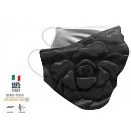 Maschera Filtrante Personalizzabile - Lavabile - Monostrato - con Tasca interna per Filtro - EVOL MASK FASHION  00013