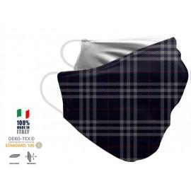 Maschera Filtrante Personalizzabile - Lavabile - Monostrato - con Tasca interna per Filtro - EVOL MASK FASHION  00004