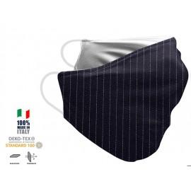Maschera Filtrante Personalizzabile - Lavabile - Monostrato - con Tasca interna per Filtro - EVOL MASK FASHION  00022